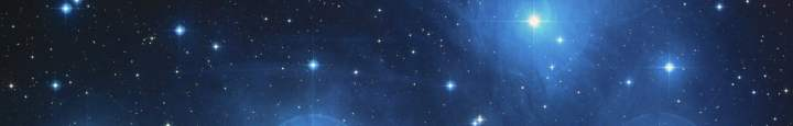 The stars of November - Pleiades