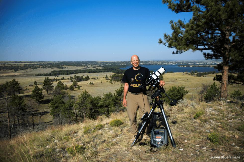 Peter Detterline on Eclipse Day