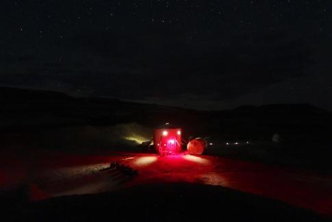 MDRS at night