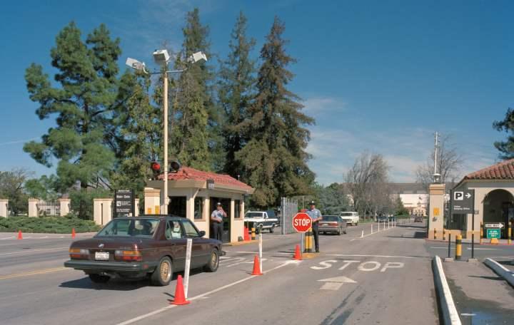 NASA Ames gate