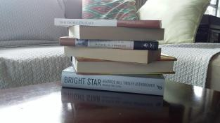 A selection of books from my library. Photo Credit Holly