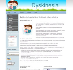Création logo association dyskinesia