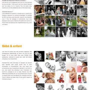 Création site web agence photo