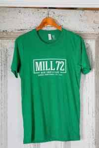 Mill 72 T-Shirt - Grass Green