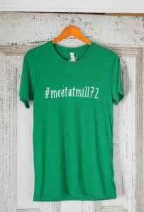 #meetatmill72 T-Shirt - Grass Green