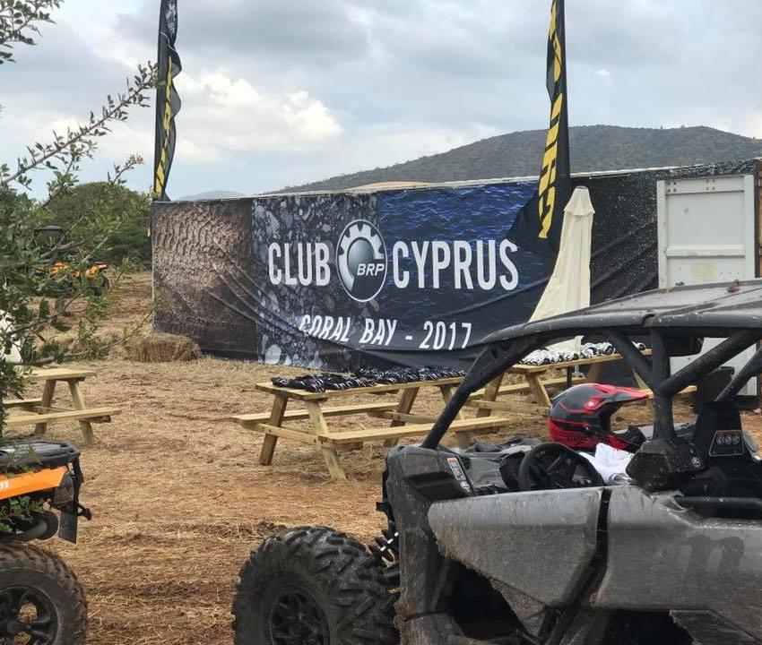 Probando los nuevos Can Am de 2018 en Chipre Coral Bay
