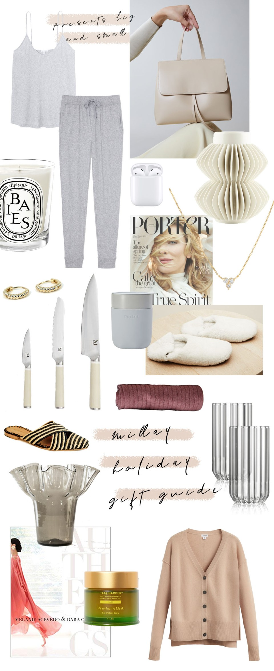 holiday gift guide by Millay Blog