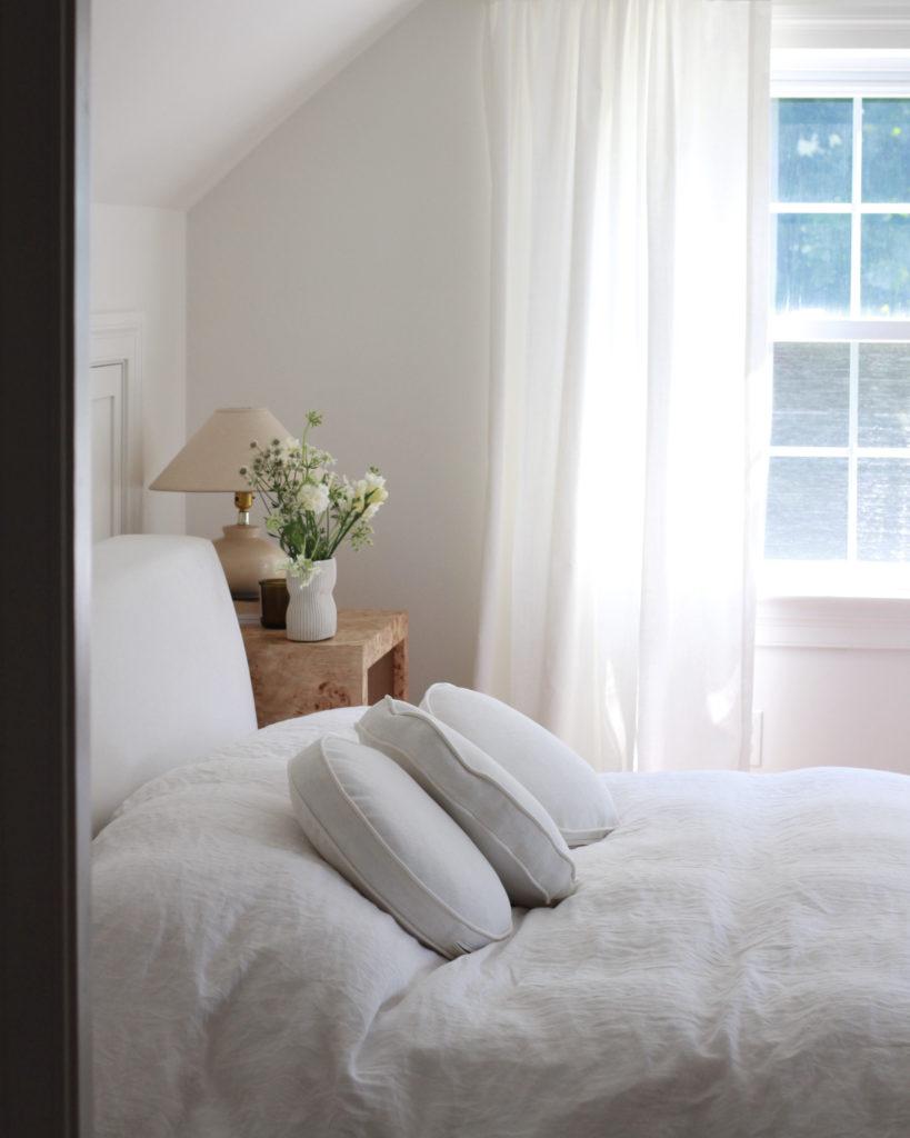 Bed Window View of Main Bedroom