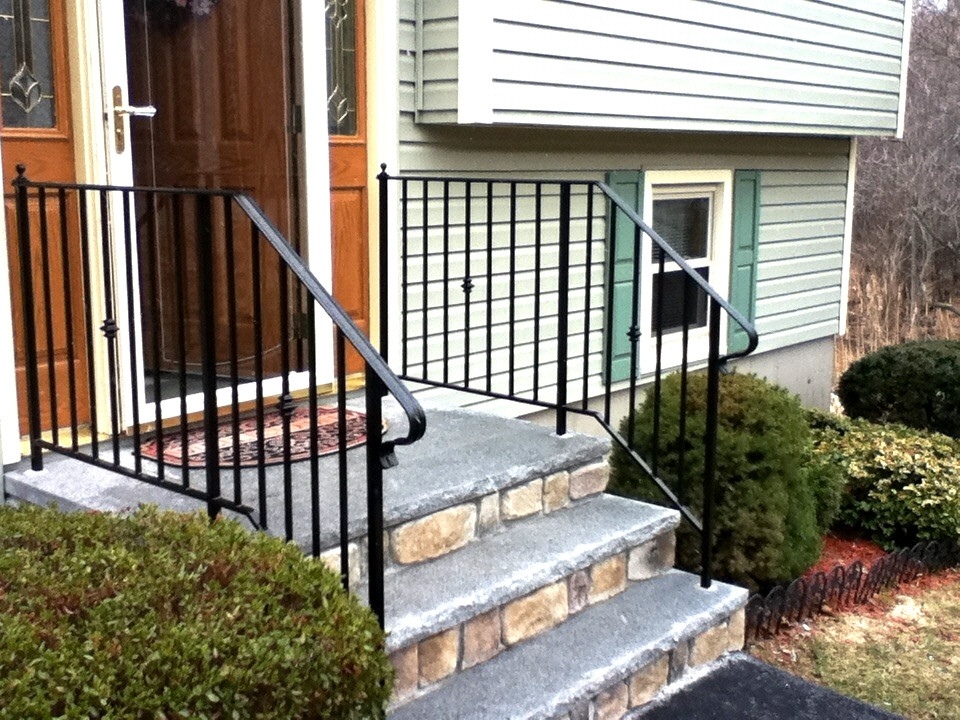 Custom Iron Railings Wrought Iron Railings Mill City Iron | Handicap Rails For Steps | Deck | Wheelchair Ramp | Activated Led | Adjustable Height | Bed
