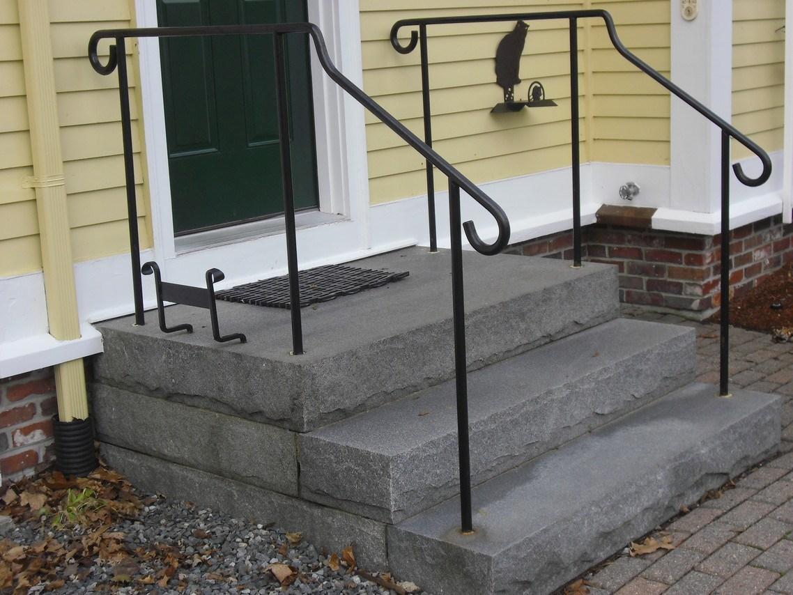 Custom Iron Railings Wrought Iron Railings Mill City Iron | Iron Handrails For Outside Steps | Aluminum Railing | Railing Systems | Deck Railing | Front Porch