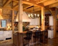 Timber Frame Designed Kitchens | Mill Creek Post & Beam