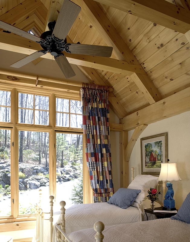Bedrooms and Bathrooms  Mill Creek Post  Beam