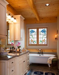 Bedrooms and Bathrooms | Mill Creek Post & Beam