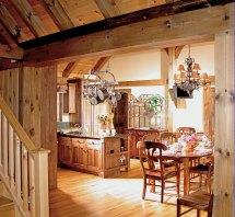 Timber Frame Designed Kitchens Mill Creek Post & Beam