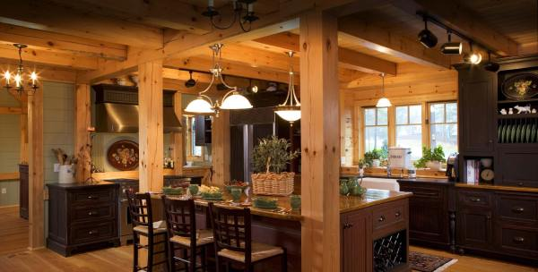 Timber Frame Homes Mill Creek Post & Beam Company