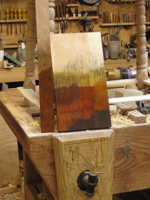 Aqua Fortis Wood Stain