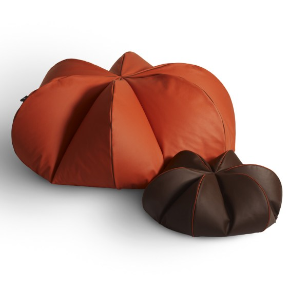 Leather beanbag