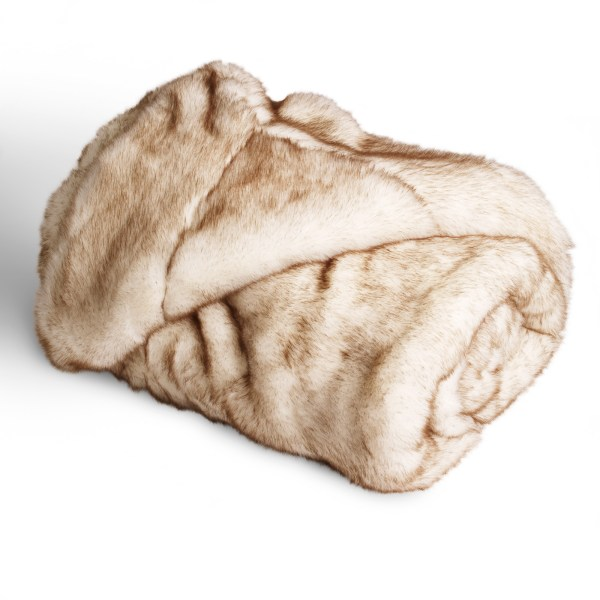 Faux Fur Throw - Polar