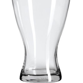 Vase, verre transparent