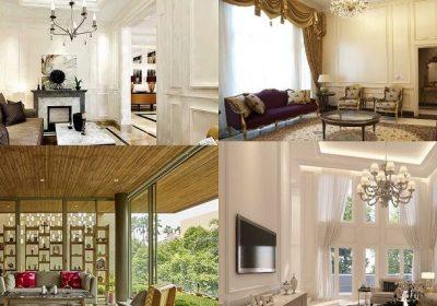 5 Desain Interior Ruang Tamu Yang Mewah dan Elegan