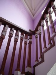 Фрагмент ограждения лестницы