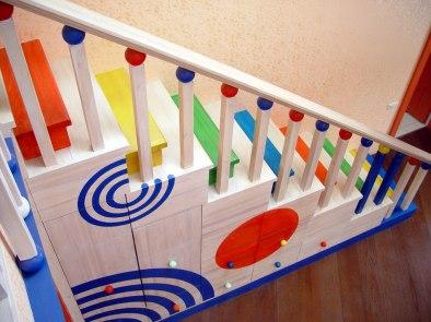 Дизайн детской. Лестница на антресоль