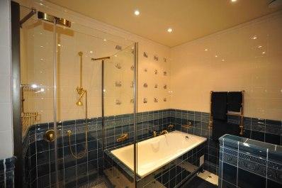 Дизайн интерьера в английском стиле. Ванная