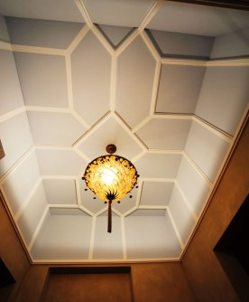 Дизайн интерьера квартиры в стиле Гауди. Потолок