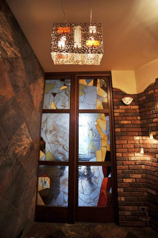 Дизайн интерьера квартиры в стиле Гауди. Коридор