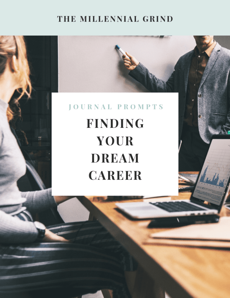 finding your dream career journal prompts
