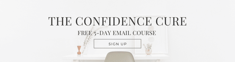 the confidence cure free 5-day email course