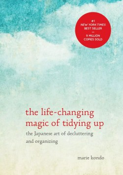 self help book; the life changing magic of tidying up