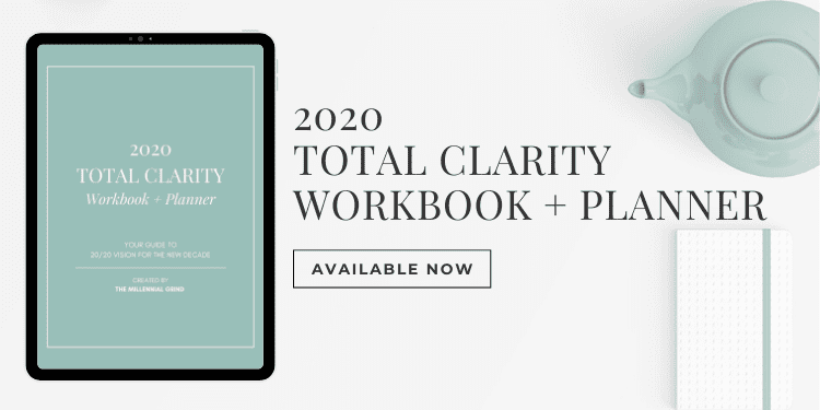 2020 - Total Clarity Workbook and Planner Ad