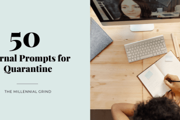50 Journal Prompts for Quarantine