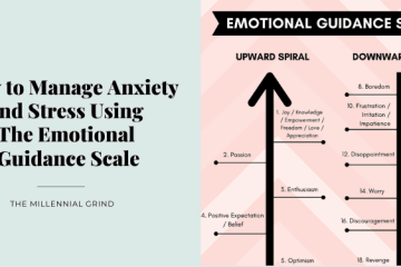 How to Manage Anxiety and Stress Using The Emotional Guidance Scale by The Millennial Grind