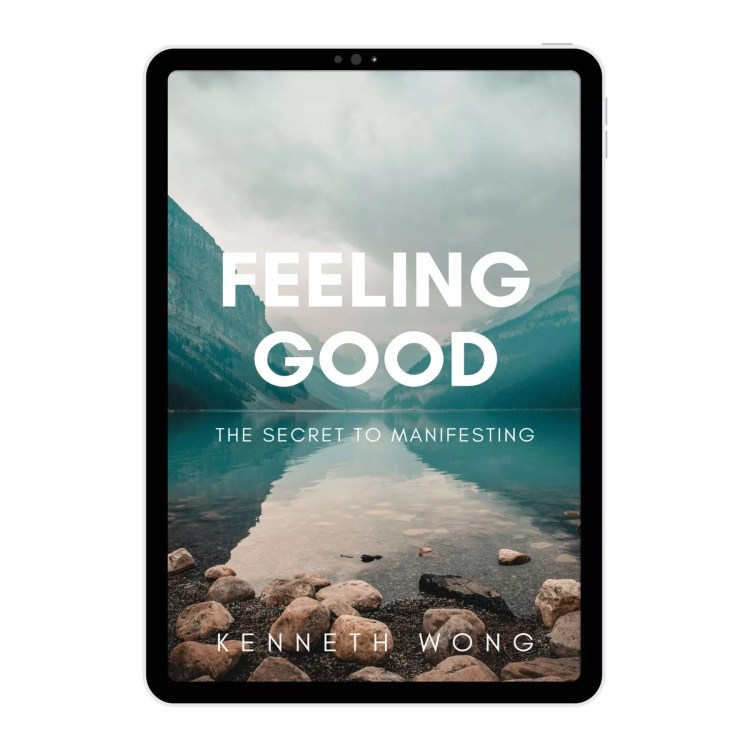 Feeling Good Book on Manifestation Method by Kenneth Wong Book Cover