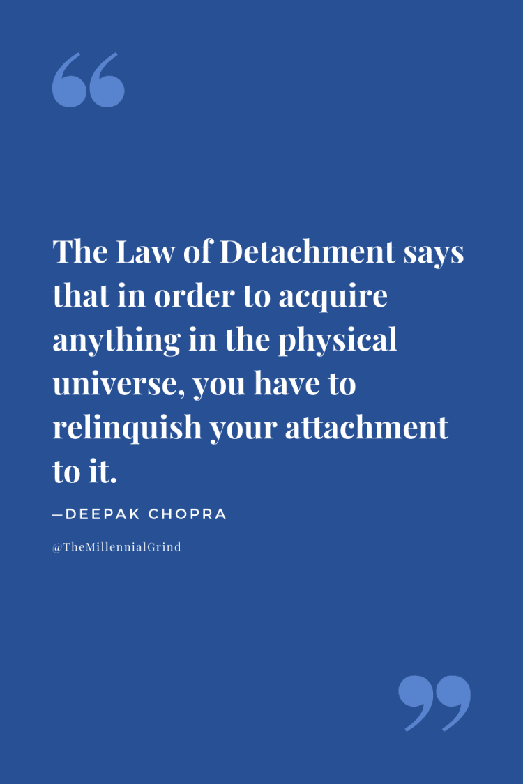 The Law of Detachment Quote