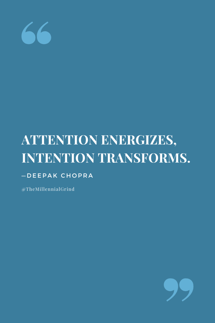 The Law of Intention and Desire Quote
