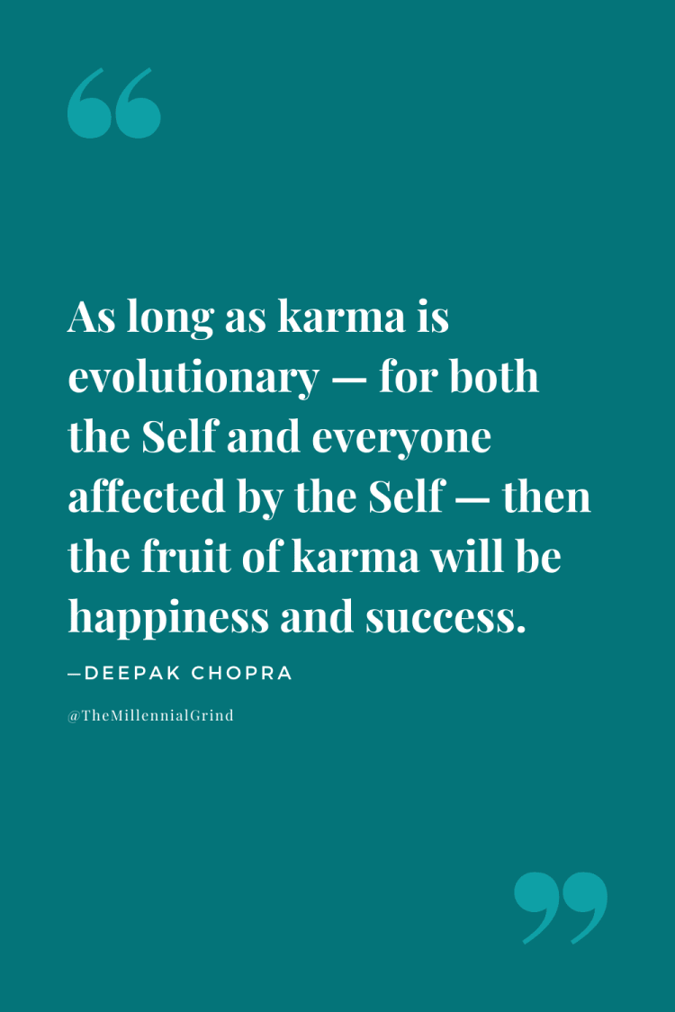 The Law of Karma Quote