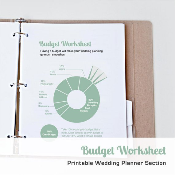 9 Wedding Budget Planners That Will Eliminate Stress