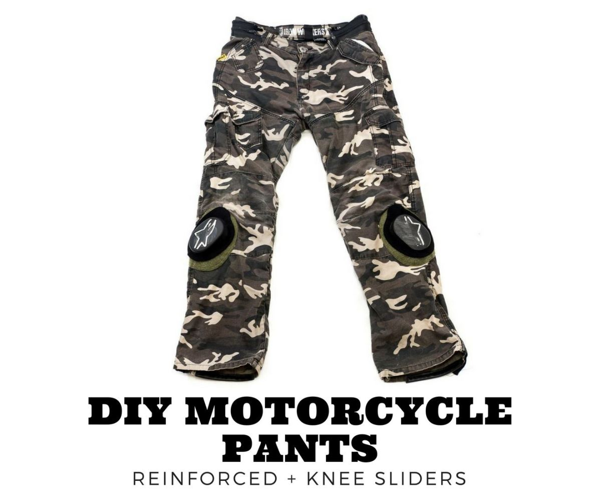 Custom DIY Motorcycle Armored Pants