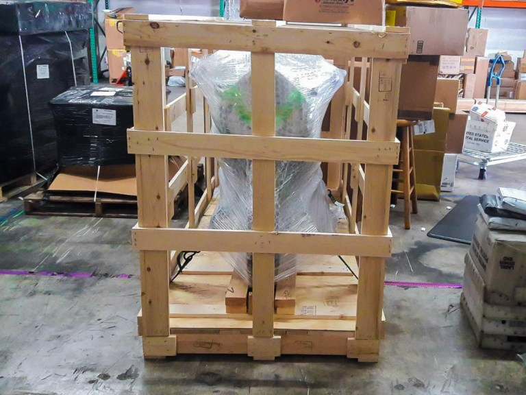 For international used motorcycle sales, don't expect the cargo company to baby your bike as well as you did. When possible, have the buyer consider boxing the bike in a motorcycle transport crate.