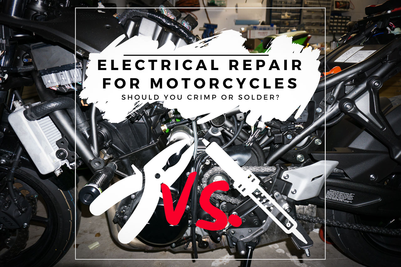 Should You Crimp Or Solder When Repairing Your Vehicle Millennial Automechanic Car Lights Electrical Connections Repair To Title Thumbnail