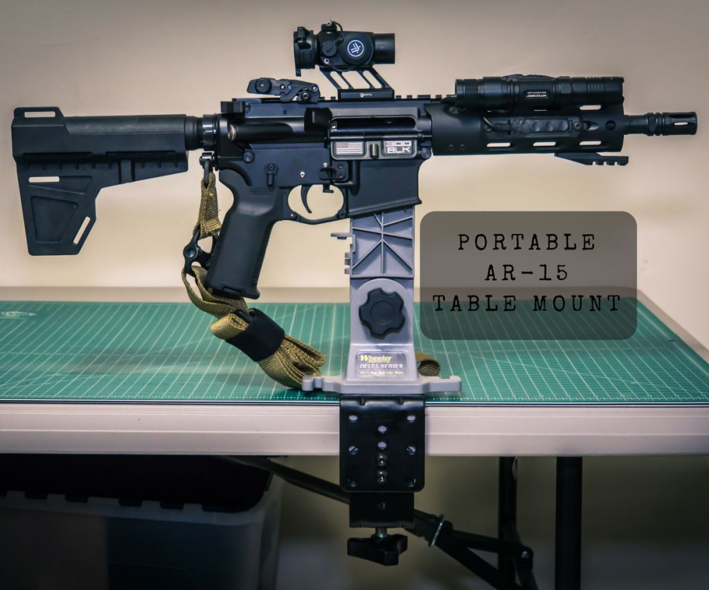 If you frequently take multiple rifles to the range, you might want to consider how useful a portable table-mounted mag vise could be.