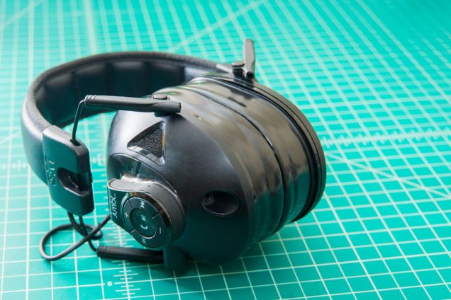 Here are the newly installed cheap gel pad upgrade on my 3M Peltor Sport Tactical Earmuffs. They're even upgraded with a DIY bluetooth receiver, but that's a whole different topic.