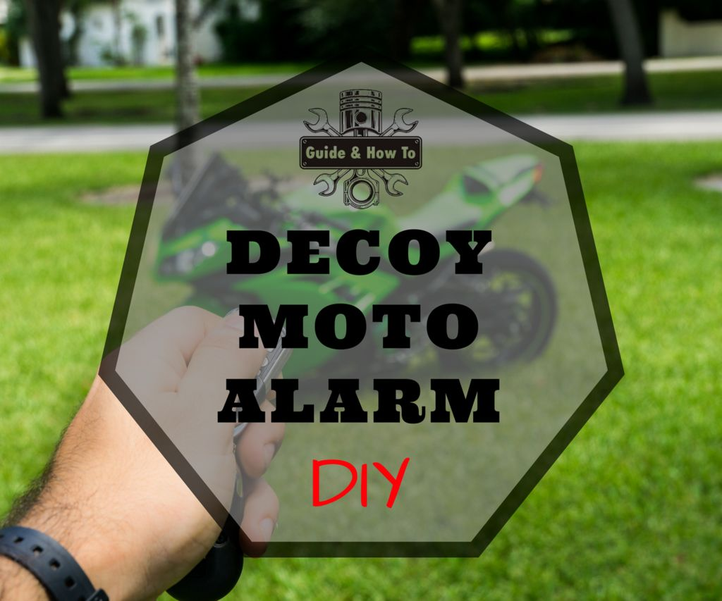 DIY Fake Dummy Alarm for Motorcycles