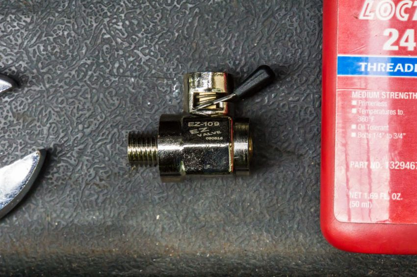 This is the Oil Drain Ball Valve. For most Kawasakis the EZ-109 is the model needed.