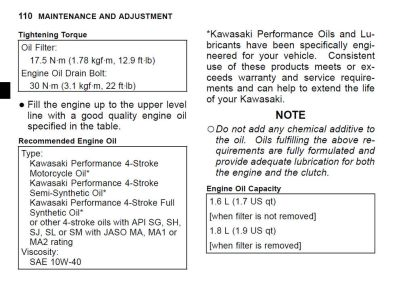 If you're reusing the Oil Drain Bolt, these are the OEM torque specs. Whenever possible, you should always change the crush washer.