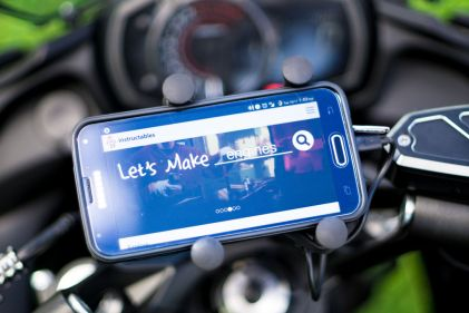 Today we're going to go over how to install a Ram Mount motorcycle phone holder on the 2017+ Kawasaki Ninja 650.