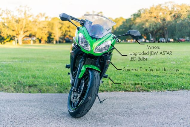 To best sell a used motorcycle, take spectacular pictures!